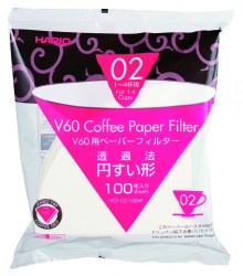Hario V60 02 White Filter Papers (100 pack)
