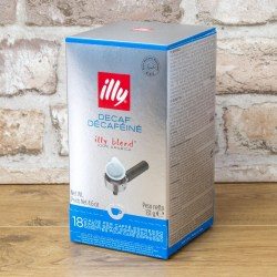 Illy Italian Coffee Pods Decaffeinated (18 pods)
