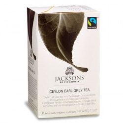 Jacksons Fairtrade Earl Grey Envelope Tea (20)