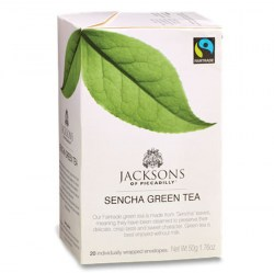 Jacksons Fairtrade Sencha Green Tea (20)