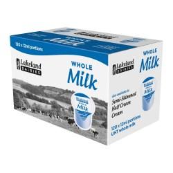 UHT Whole Milk Portions (120 pots)