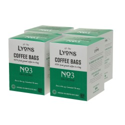 Lyons No3 Coffee Bags (4 x 18)
