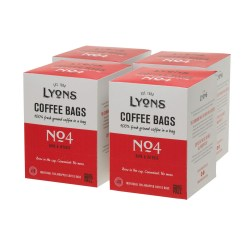 Lyons No4 Coffee Bags (4 x 18)