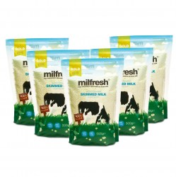 Milfresh Gold Granulated Skimmed Milk Powder (10 x 500g)