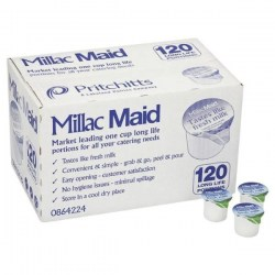 Millac Maid Long Life Milk Pots (120)