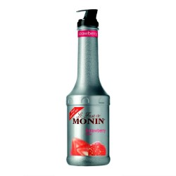 Monin Fruit Puree - Strawberry (1 Litre)