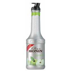 Monin Fruit Puree - Green Apple (1 Litre)