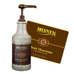 Monin Sauce - Dark Chocolate (1.89 Litre)