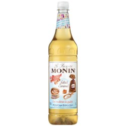 Monin Salted Caramel Reduced Sugar Syrup (1 Litre)