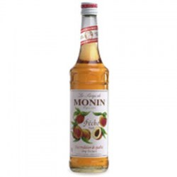 Monin Peach Syrup (700ml)