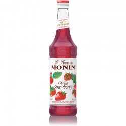 Monin Wild Strawberry Syrup (700ml)