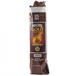 Nescafe Gold Blend 73mm Vending Incup White Coffee (12 x 25)