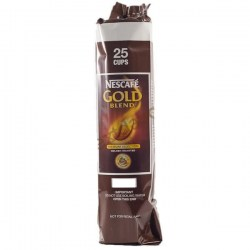 Nescafe Gold Blend 73mm Vending Incup Black Coffee (25)