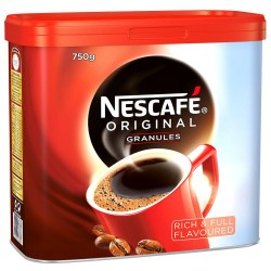 Nescafe Original Coffee Granules (750g Tin)