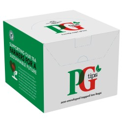 PG Tips Envelope Tea Bags (200 Pack)
