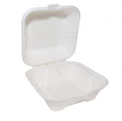 Bagasse Burger Box 6