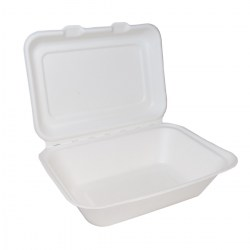 Bagasse Clamshell Regular (125)