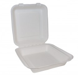 Bagasse Square Lunch Box 8