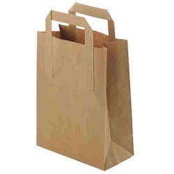 Paper Takeaway Carry Bags (125 bags)