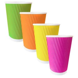 8oz Rainbow Ripple Cups (500)