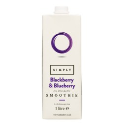 Simply Smoothie Mix - Blueberry and Blackberry (1 litre)