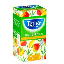 Tetley Green Tea Mango (25)