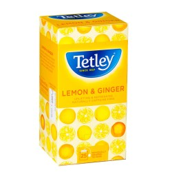 Tetley Lemon & Ginger Tea (25)