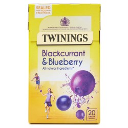 Twinings Blackcurrant and Blueberry Infusion (20 bags)