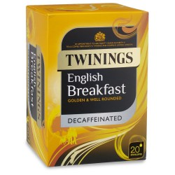 Twinings Decaffeinated English Breakfast Envelope Tea (20)