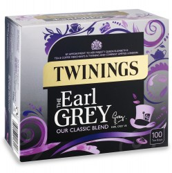 Twinings Earl Grey String & Tag Tea (100 bags)