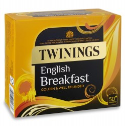 Twinings English Breakfast Envelope Tea (50 bags)