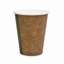 12oz Single Wall Compostable Vegware Kraft Cup (100)