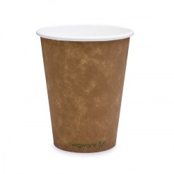 12oz Single Wall Compostable Vegware Kraft Cup (1000)