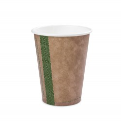 8oz Single Wall Compostable Vegware Kraft Cup (100)