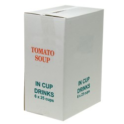 Tomato Soup 73mm Vending Incup (6x25)