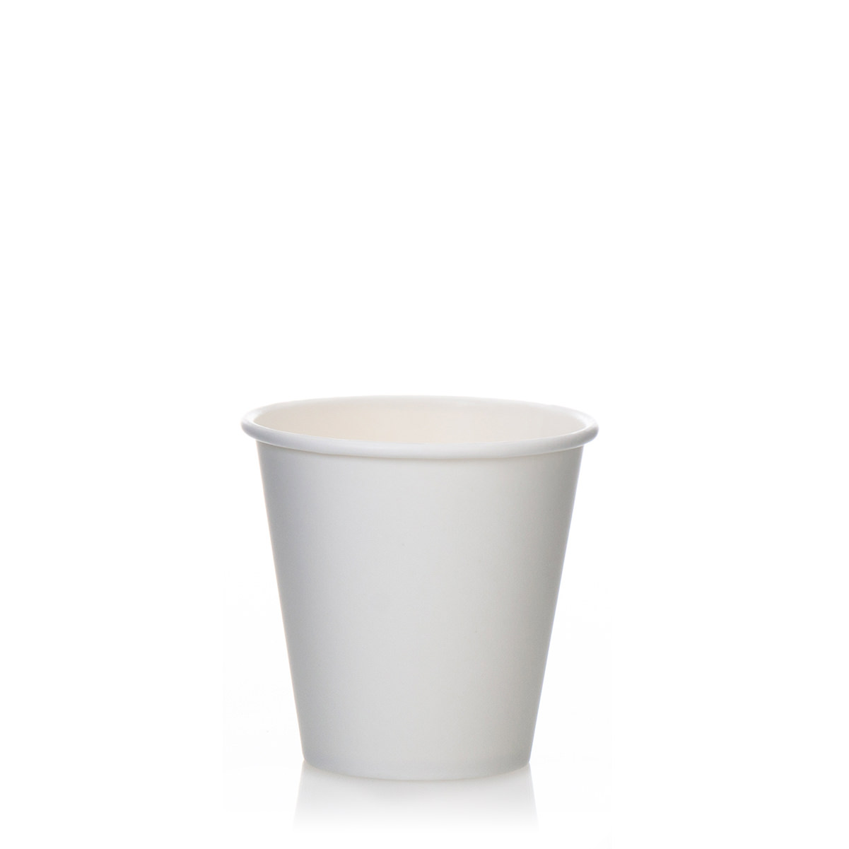 6oz Single Wall White Paper Cups (1000)