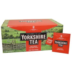 Yorkshire Tea Envelope Tea Bags (200)
