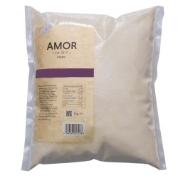 Amor Cookie & Cream Frappe Mix (1kg)