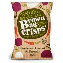 Brown Bag Beetroot Crisps