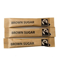 Fairtrade Brown Sugar Sticks (1000)