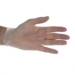 Blue Disposable Vinyl Gloves - Medium (100)
