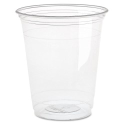 12oz Compostable Plastic Smoothie Cups (100)