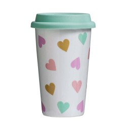 Travel Mug - Confetti Design (330ml)