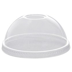 12-16oz Compostable Domed Smoothie Lids (100)