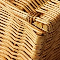 3 x Luxury Wicker Gift Hamper Basket - Size 4