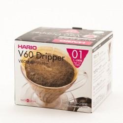 Hario V60 01 Dripper - Clear