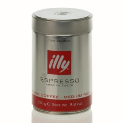 Illy Italian Ground Coffee (250g)