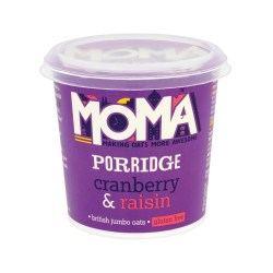 Moma Porridge Oats - Cranberry and Raisin (12)