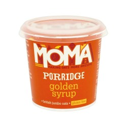 Moma Porridge Oats - Golden Syrup (12)