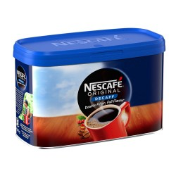 Nescafe Instant Decaffeinated Coffee Granules (500g Tin)